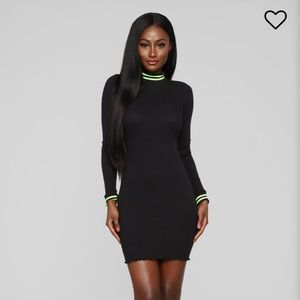 """""""ACTIVE ATTRACTION RIBBED MINI DRESS"""""""